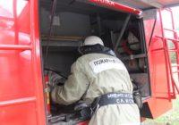 Пожарные ПАСС потушили фуру