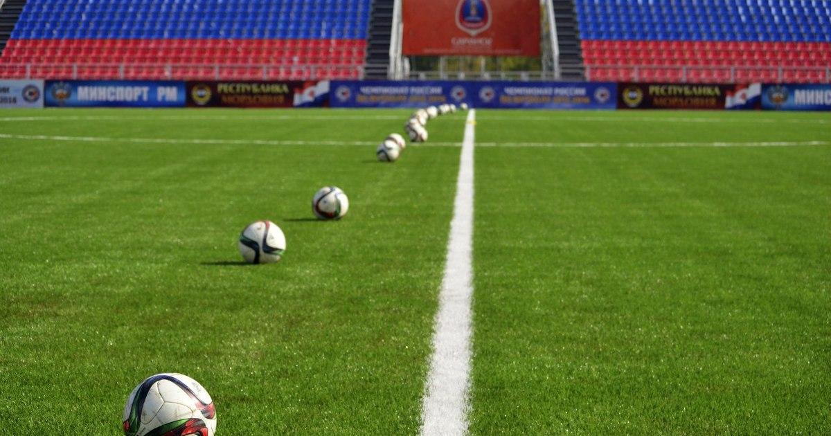 футбольных полей