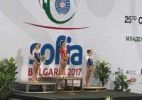 Ставропольская акробатка золотой призер мирового первенства