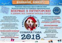 В Пятигорске выберут собаку года