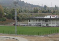 В Кисловодске завершено строительство новых футбольных полей