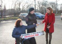 Госавтоинспекция провела акцию Уступи дорогу