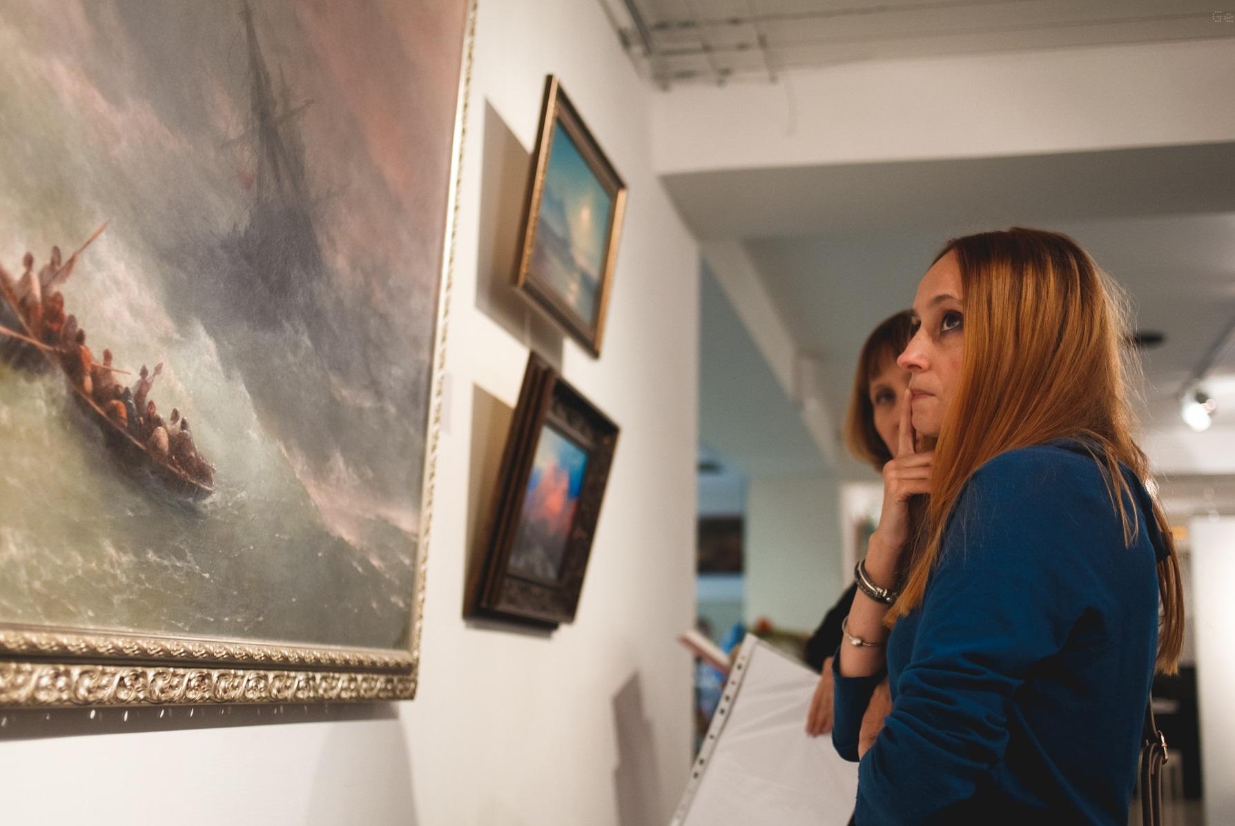 Выставка картин Айвазовского в музее Крепость