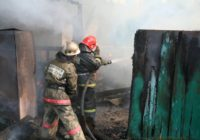 Военный пенсионер едва не лишился хозяйства из-за пожара