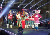 Бумажный снег и дог-шоу. Как в Пятигорске встречали Новый год