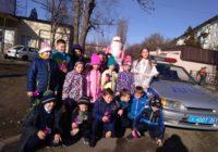 Акция Полицейский Дед Мороз проходит в Пятигорске