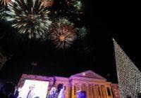 Как Ставрополь встретил Новый год