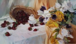 Выставка живописи Вальс цветов откроется в Национальном парке