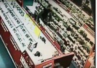 Воришка дважды обокрал магазин и ушел незамеченным