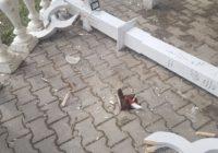 В Ессентуках вандалы оставили свой след в Курортном парке