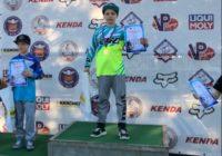 Юный спортсмен стал победителем Чемпионата ЮФО по мотокроссу