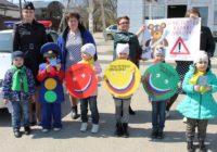 В Пятигорске детсадовцы призывали соблюдать ПДД