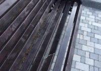 Вандалы поиздевались над скамейкой в Парке Победы
