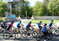 В Кисловодске стартовал велопробег, посвященный годовщине Победы