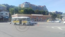 ДТП на кругу в Кисловодске