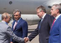 Владимир Путин приехал на Машук