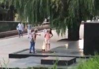 Полиция ищет женщин, сушивших одежду над Вечным огнем