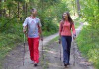 Скандинавская ходьба становится популярной