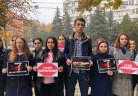 Железноводчане почтили память погибших в Керчи