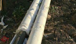 Коммунальщики МинВод скотчем утеплили к зиме трубы