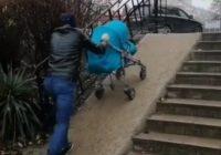 Новый пандус возле кинотеатра не понравился жителям Ессентуков