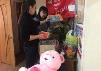 Волонтеры Кисловодска передали подарки детям ЛНР и ДНР