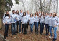 Студенты пединститута участники движения Молодой экскурсовод