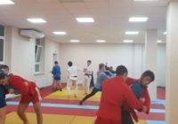 В новом спортзале Железноводска активно занимаются спортсмены