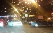 В Кисловодске из-за аварии образовалась большая пробка