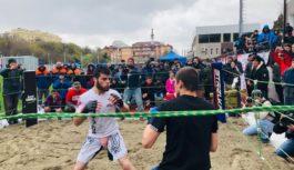 В Железноводске бойцы без правил открыли летний сезон
