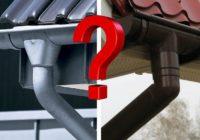 Эксперты ЖКХ: о конструкциях водостоков