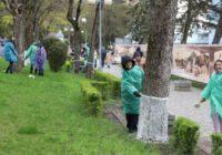 В Пятигорске прошел городской субботник