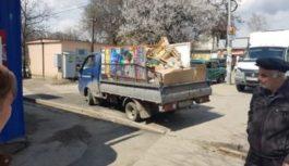 Несанкционированная торговля в столице округа