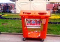 Новые контейнеры для сбора мусора установлены