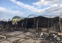 Установлена причина пожара магазина автомасел на рынке Лира