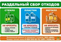 Новые мусорные контейнера – для каких видов отходов?