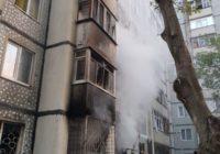 В многоквартирном доме в Железноводске произошел пожар