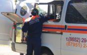 Упавшего с высоты пенсионера уберегли соседи и спасатели