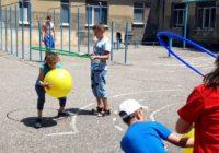 Веселые старты прошли в летних школьных лагерях