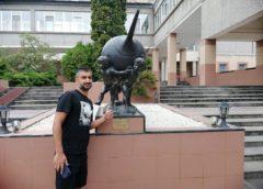 Александр Самедов отдыхает в Железноводске