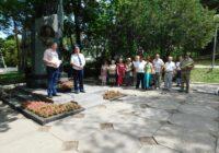 Митинг к 60-летию установки памятника Ф.А. Цандера