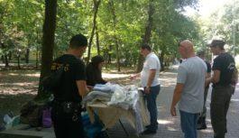 В Курортном парке Ессентуков боролись с незаконной торговлей