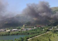 Пожар на улице Промышленной в Кисловодске. Подробности