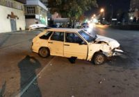 В Пятигорске небезопасная скорость движения привела к автоаварии