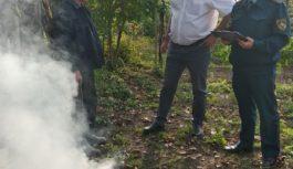 В Ессентуках объявили охоту на разжигателей костров