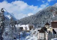 Домбай – зимняя сказка
