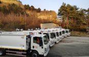 Новые мусоровозы прибыли на Кавминводы