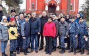 Генерал-полковник Владимир Чиркин попробовал казачью кашу