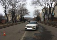 В Кисловодске Мерседес совершил наезд на пешехода