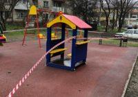 На детские площадки Железноводска теперь не попасть